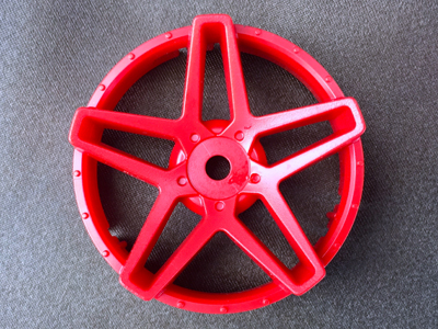 "TT-7581  ""Super RIM"" DISC ""Southern Cross"" Hot Red 2pcs"