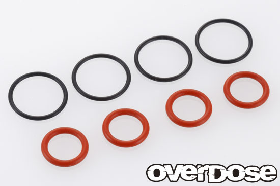 OVERDOSE OD2009  O-Ring Set (for HG Shock/ S8xa, SS12x