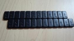 DL109  Black Weight Set (60g x 2pcs)