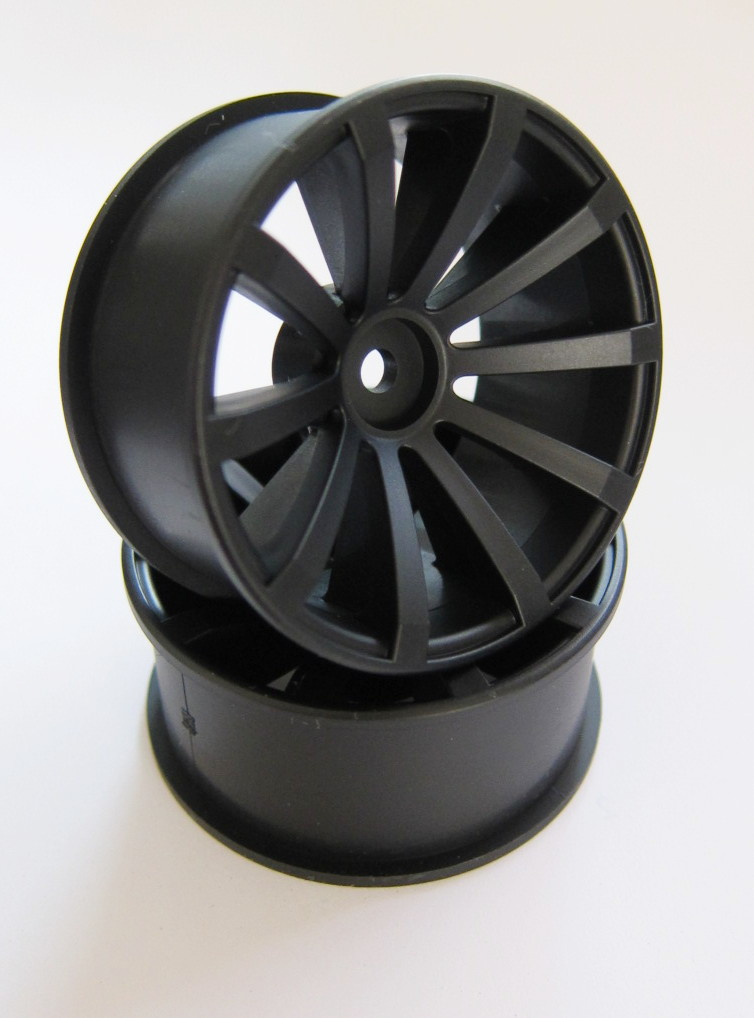 DRS-120SMB DRIFT FIGHTER JUPITAR DRS-10 OFFSET12 SUPER MATTE BLACK