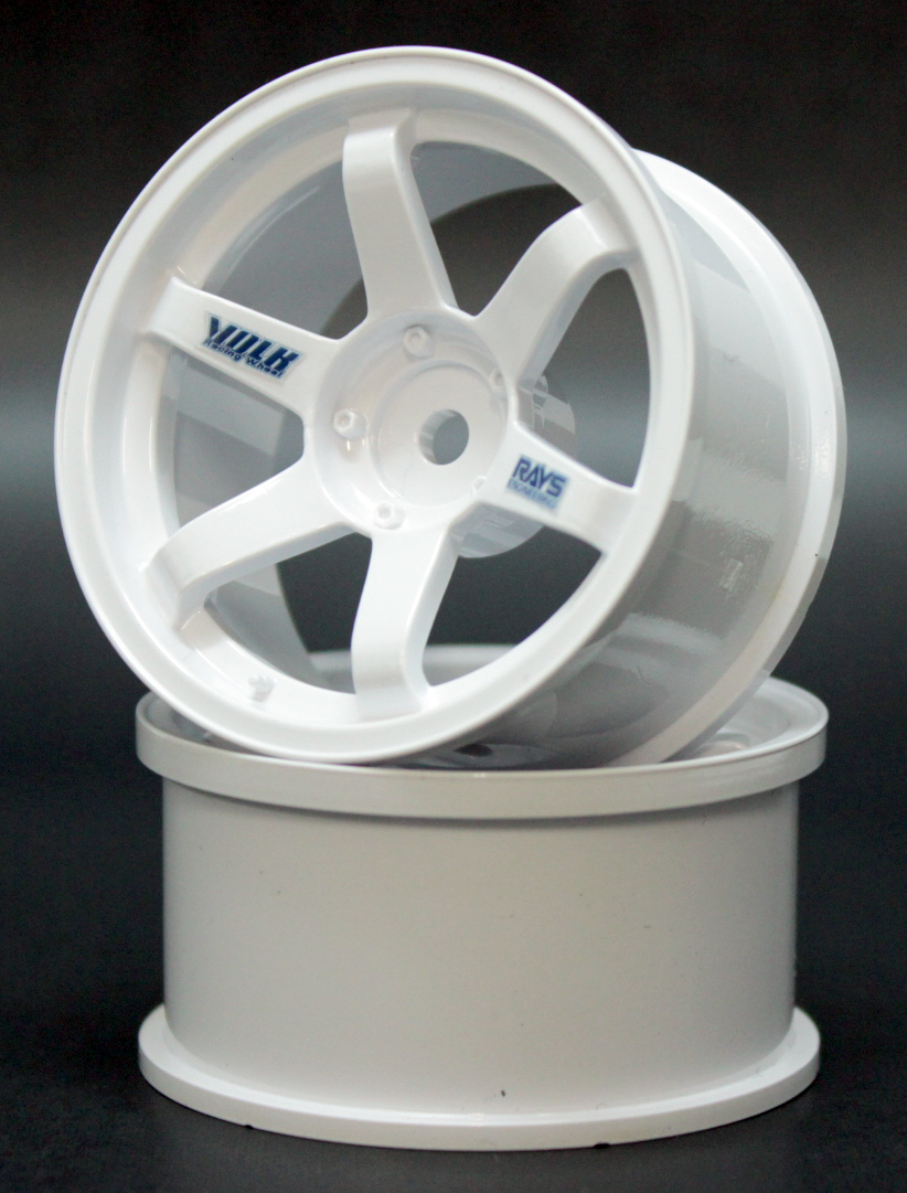 SPKV-001 VOLK Racing TE37 wheel off5 white