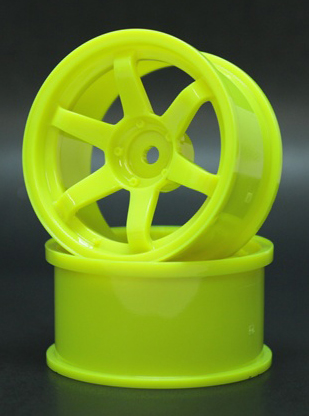 SPKV-005  6spoke wheel off5 yellow
