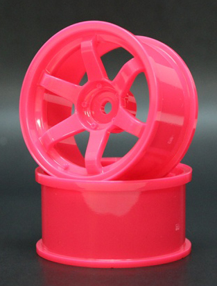 SPKV-007  6spoke wheel off5 pink