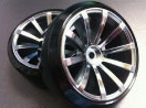 DRS-1070MC WHEEL OFFSET7 MATTE CHROM