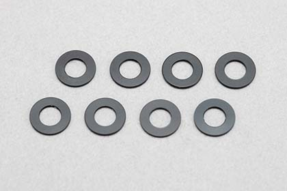 ZC-A3605B  3x6x0,5mm Aluminium Shim(8pcs/Black)