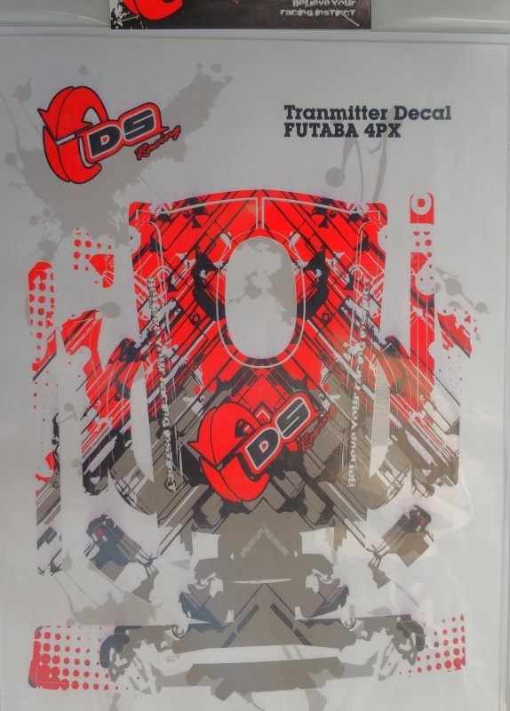 TS-003-4PX Transmiter skin FUTABA 4PX