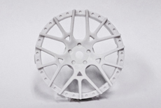 "TT-7601 ""Super RIM"" DISC ""Lycoris"" Heavy WHITE 2pcs"