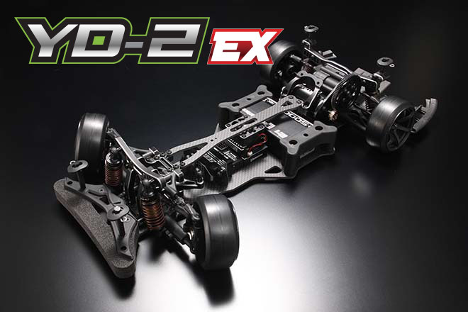 Yokomo YD-2 EX RWD Drift Car Kit (Matte Graphite Chassis)