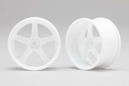 RP-6113W6  Racing Performer Drift Wheel 5 Spokes (6 mm Offset / White)
