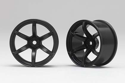 RP-6213B6  Racing Performer Drift Wheel 6 Spoke 02 (6 mm Offset / Black)