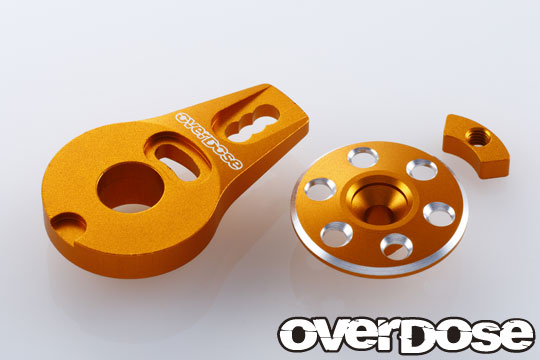 OVERDOSE OD2273 Aluminum Servo Saver Horn Type-2(For OD1462 /Gold)