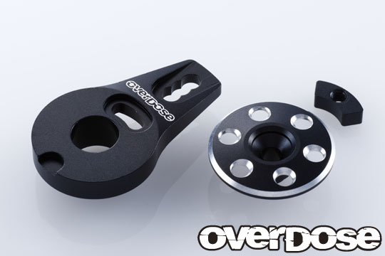 OVERDOSE OD2276 Aluminum Servo Saver Horn Type-2(For OD1462 /Black)