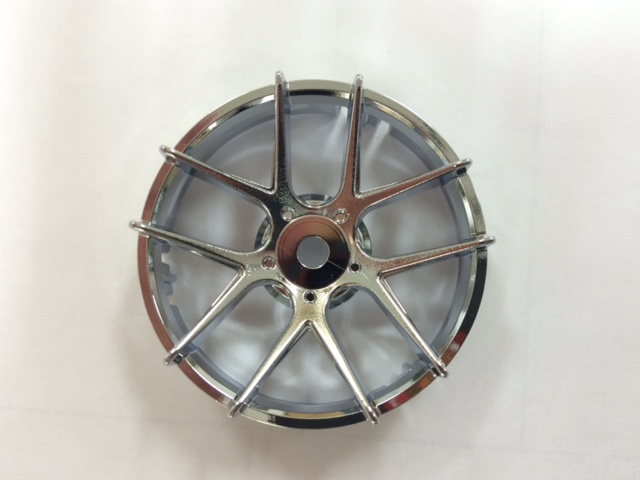 "TT-7554 ""Super RIM"" DISC ""Jasmine"" CHROME 2pcs"