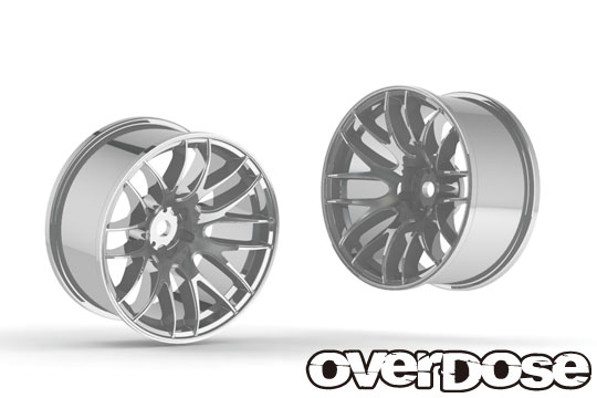 OVERDOSE OD2346 WORK EMOTION M8R (Chrome/OFF+7)