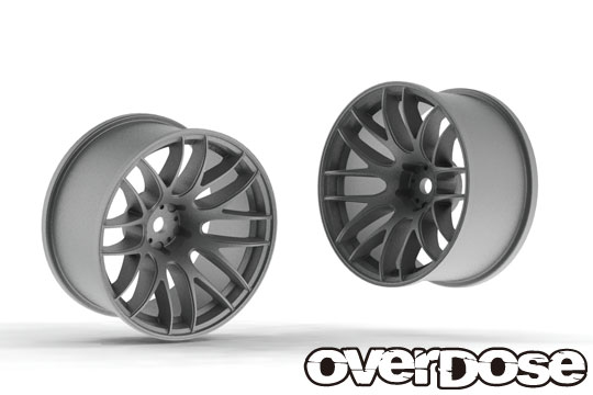 OVERDOSE OD2345 WORK EMOTION M8R (Matte Chrome/OFF+7)