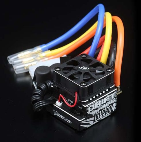 BL-PRO4D Yokomo DRIFT SPEC ESC BL-PRO4 Turbo (>3.5T) with wire