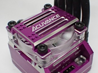 ACUVANCE  High Power Cooling Fan Unit for Xarvis - Purple