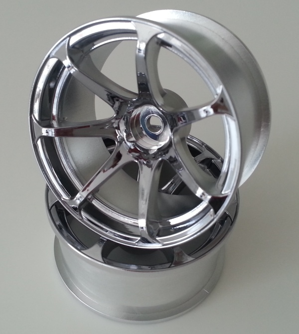 DW-1227CS  AVS model T7 wheel offset7 chrome silver
