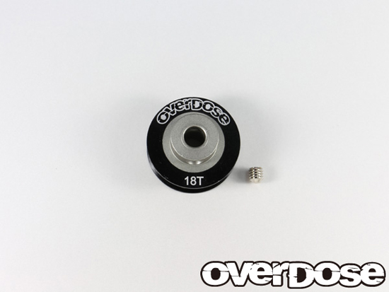 OVERDOSE OD1502 Center Pulley 18T Black