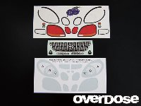 OVERDOSE OD1157 3D Graphic Series OD Mark X Light, Grill & Emblem Set