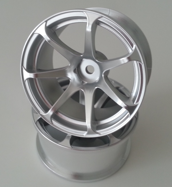 DW-1227MS  AVS model T7 wheel offset7 matte silver