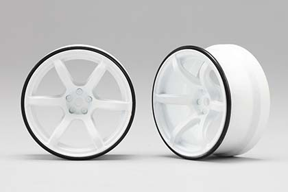 RP-6313W6  Racing Performer High Traction Drift Wheel (6 mm Offset / White)