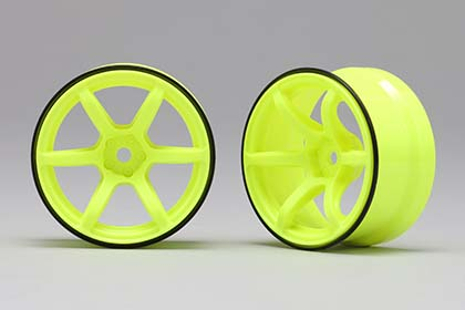 RP-6313Y6  Racing Performer High Traction Drift Wheel (6 mm Offset / Yellow)