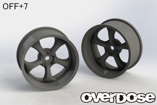 OVERDOSE OD2571 Work VS KF (Black/OFF+7)