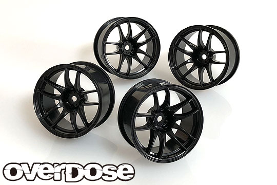 OVERDOSE OD2616 R-SPEC WORK EMOTION CR Kiwami (Black/OFF+5,+7 2pcs of each) LE