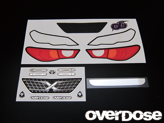 OVERDOSE OD1140a 3D Graphic series / OD Mark X Light & Grill emblem set