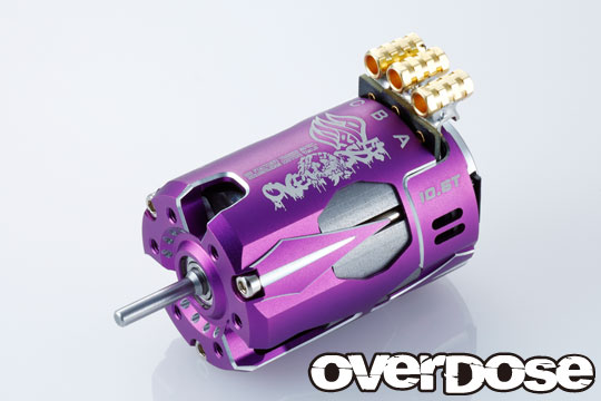OVERDOSE OD2602 OD Factory Tuned Spec. Brushless Motor Ver.3  6.5T (Purple)
