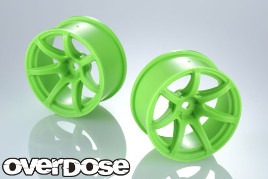 OVERDOSE OD2724 R-SPEC WORK EMOTION T7R (Flo Green / OFF+7)