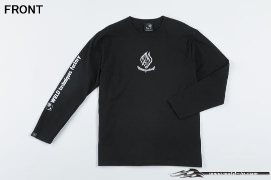 ODW081  Weld T-shirt (long sleeve) Color / Black Size / M