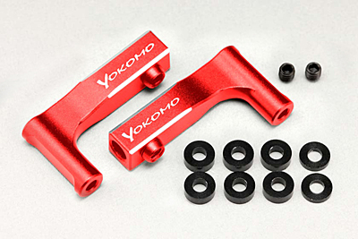 Y2-R08FUI YD-2 Aluminum Front Upper I Arm (Red)
