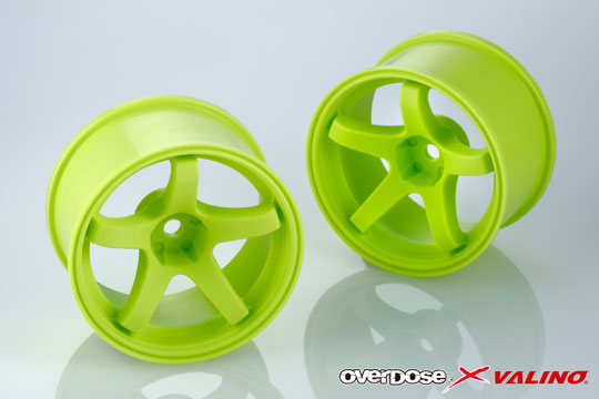 OVERDOSE OD2776 VALINO GV330 30mm (Lime Yellow/OFF+9)