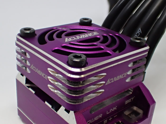ACUVANCE Ultra High Speed fan unit for XARVIS exclusive (Purple)