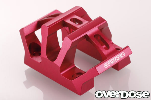 OVERDOSE OD1588 Aluminum center bulkhead cap (For DPM / Red)