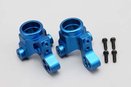 TS-2123 Aluminum steering block for DRB/DIB lower caster block (Blue)