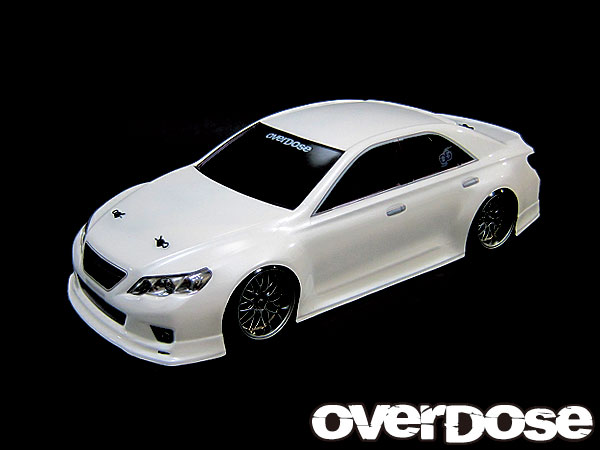 OVERDOSE OD1139 GRX130 Toyota Mark X ST-GARAGE ver. Clear body