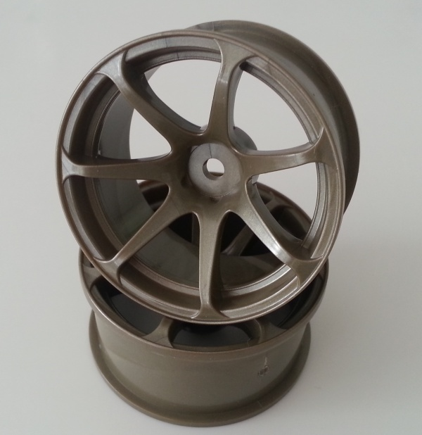 DW-1227BR  AVS model T7 wheel offset7 bronze