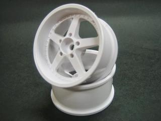 DW-1127WH  WORK EQUIP wheel offset7 white