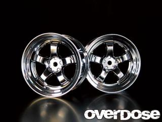 OVERDOSE OD1182 WORK MEISTER S1R (Chrome/OFF+7)