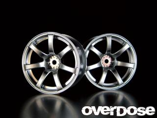 OVERDOSE OD1191 WORK EMOTION XT7 (MATTE CHROME / OFF +7)