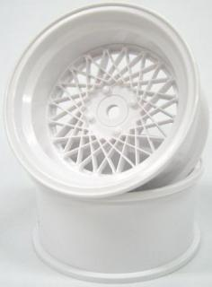 DW-1023WH  MESH WHEEL Reinforced Version OFFSET3 WHITE