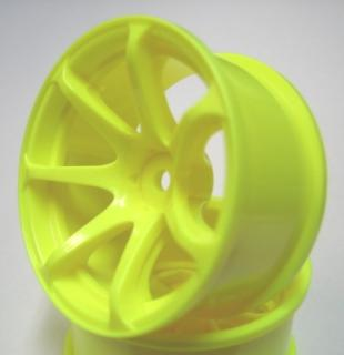 DW-1225YE  AVS model T7 wheel offset5 fluorescentyellow