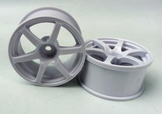 DW-1325WH   AVS model T6 wheel offset5 white