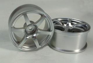 DW-1325MS   AVS model T6 wheel offset5 matte silver