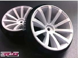 DRS-120WH DRIFT FIGHTER JUPITAR DRS-10 OFFSET12 WHITE
