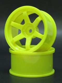 SPKV-008  6spoke wheel off8 yellow