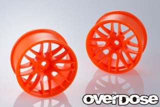 OVERDOSE OD2340 WORK EMOTION M8R (Mandarin Alert/OFF+7/Limited Edition)